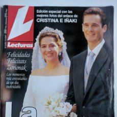 Coleccionismo de Revistas: LA BODA DE CRISTINA E IÑAKI. Lote 98396771