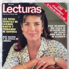 Coleccionismo de Revistas: REVISTA LECTURAS - Nº 1620 1983 CAROLINA, MARISOL, JULIO IGLESIAS, GENE ANTHONY RAY, REMEDIOS AMAYA. Lote 98436727