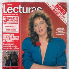 Coleccionismo de Revistas: REVISTA LECTURAS - Nº 1608 - 1983 - PAMELA SUE MARTIN, CAROLINA, CRISTINA MARSILLACH, JULIO IGLESIAS. Lote 98438523