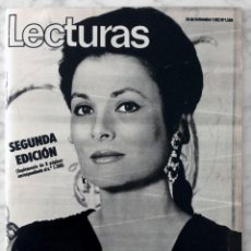 Coleccionismo de Revistas: REVISTA LECTURAS - Nº 1588 - 1982 - GRACE DE MÓNACO, GRETA GARBO, MARISOL, JUANITO, ANA OBREGÓN. Lote 98500327