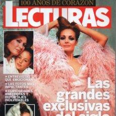 Coleccionismo de Revistas: LECTURAS ESPECIAL N. 1 - 100 AÑOS DE CORAZON - LAS GRANDES EXCLUSIVAS DEL SIGLO (NUEVA). Lote 112910494