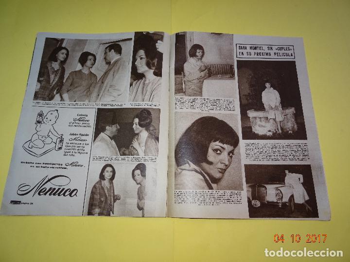 Coleccionismo de Revistas: REVISTA LECTURAS - Nº 577 - 1963 - SARA MONTIEL, RICHARD BEYMER, JOSÉ ISBERT - Foto 2 - 100262439