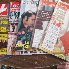 Coleccionismo de Revistas: LOTE DE 6 REVISTAS LECTURAS. Lote 100308255