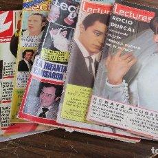 Coleccionismo de Revistas: LOTE DE 6 REVISTAS LECTURAS. Lote 100308667