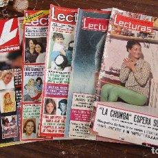 Coleccionismo de Revistas: LOTE DE 6 REVISTAS LECTURAS. Lote 100309827