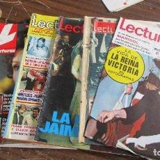 Coleccionismo de Revistas: LOTE DE 6 REVISTAS LECTURAS. Lote 100375371
