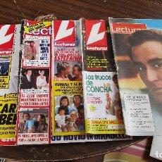 Coleccionismo de Revistas: LOTE DE 6 REVISTAS LECTURAS. Lote 100439903