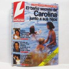Coleccionismo de Revistas: NÚMERO 2112 DE LA REVISTA LECTURAS - EL BAÑO SECRETO DE CAROLINA - 1992. Lote 100579379