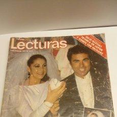 Coleccionismo de Revistas: REVISTA LECTURAS MAYO DE 1983. Lote 100591795
