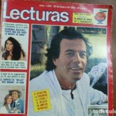 Coleccionismo de Revistas: REV.1/92 JULIO IGLESIAS RPTJE. CAMILO SESTO,A. PERALES,FOTO M-BOSÉ, NORMA DUVAL,POSTER NARANJITO 1. Lote 100626515