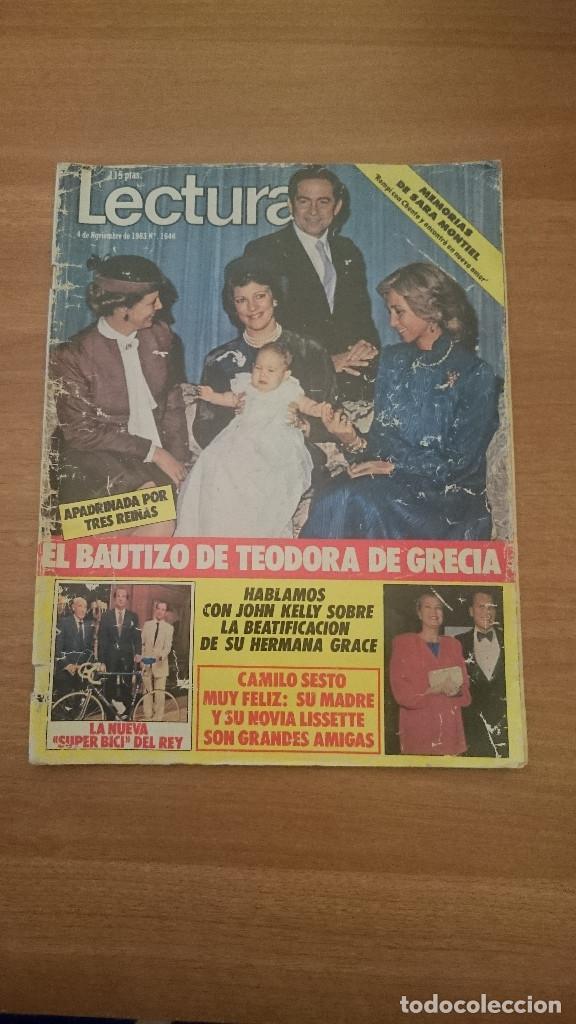 REVISTA LECTURAS - 4 DE NOVIEMBRE DE 1983-- Nº 1646 (Coleccionismo - Revistas y Periódicos Modernos (a partir de 1.940) - Revista Lecturas)