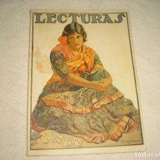 Coleccionismo de Revistas: LECTURAS N° 39 , AGOSTO 1924. Lote 102409831