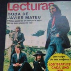 Coleccionismo de Revistas: LECTURAS, LOS BEATLES CADA UNO POR SU LADO 1970. Lote 102495468