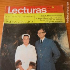 Coleccionismo de Revistas: LECTURAS Nº 769 DE 1967- REINA MARGARITA- CARMEN SEVILLA- ADAM GRUP- ULLA BERGRYD- KARINA- AZNAVOUR.. Lote 102697711