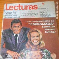 Coleccionismo de Revistas: LECTURAS Nº 816 DE 1967- EMBRUJADA- GRACE DE MONACO- BRIGITTE BARDOT- PETULA CLARK- FRANK SINATRA- +. Lote 102770463