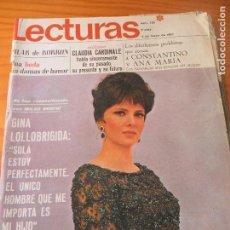 Coleccionismo de Revistas: LECTURAS Nº 785 D 1967- GINA LOLLOBRIGIDA- BRIGITTE BARDOT- RITA PAVONE- LOS BRAVOS- RAY CHARLES- ++. Lote 102819859
