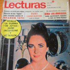 Coleccionismo de Revistas: LECTURAS Nº 921 DE 1969- LIZ TAYLOR- MARISOL-CATHERINE DENEUVE- JOHN LENNON- GELU- BURT LANCASTER- +. Lote 103134475
