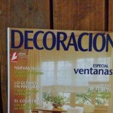 Coleccionismo de Revistas: LECTURAS DECORACIÒN Nº 28 ESPECIAL VENTANAS. Lote 103236011
