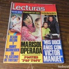 Coleccionismo de Revistas: LECTURAS LOTE DE 4 REVISTAS. Lote 103430747