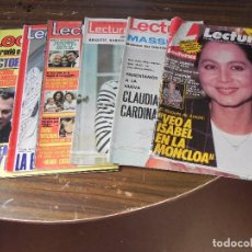 Coleccionismo de Revistas: LOTE DE 6 REVISTAS LECTURAS. Lote 103431659