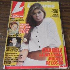 Coleccionismo de Revistas: LECTURAS 02/12/1987 JULIO IGLESIAS - CHABELI - JOSÉ CARRERAS - MELODIE. Lote 103844387