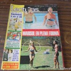 Coleccionismo de Revistas: LECTURAS 17/03/1975 SARA MONTIEL - RAPHAEL - MARISOL . Lote 103844591