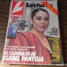 Coleccionismo de Revistas: LECTURAS 01/06/1988 ISABEL PANTOJA - SARAH FERGUSON - RICHARD GERE - SCHUSTER. Lote 103845063