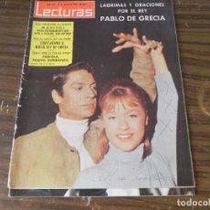 Coleccionismo de Revistas: LECTURAS 13/03/1964 MARISOL - FABIOLA NUEVA ESPERANZA - PABLO DE GRECIA - CONSTANTINO II. Lote 103845523