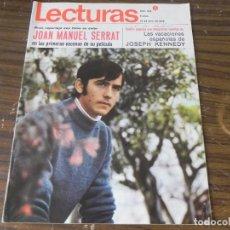 Coleccionismo de Revistas: LECTURAS 10/07/1988 JOAN MANUEL SERRAT - JOSEPH KENNEDY. Lote 103845767