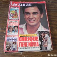 Coleccionismo de Revistas: LECTURAS 02/05/1980 PECOS - ENRIQUE Y ANA - CRISTINA GARCÍA RAMOS. Lote 103846251
