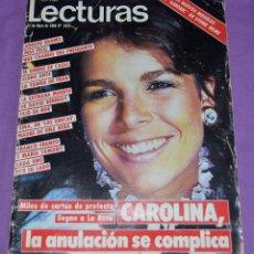 Coleccionismo de Revistas: REVISTA LECTURAS. 11 MAYO 1984. Lote 104116031