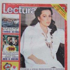 Coleccionismo de Revistas: REVISTA LECTURAS 1293 MASSIEL MARISOL POSTER EPI Y BLAS. Lote 104615783