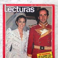 Coleccionismo de Revistas: LECTURAS - 1982 - SERRAT, JULIO IGLESIAS, SARA MONTIEL, MIGUEL JOVEN, ROCIO DURCAL, JOHNNY HALLYDAY. Lote 104724735