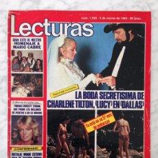 Coleccionismo de Revistas: LECTURAS - 1982 BODA DE CHARLENE TILTON, FARRAH FAWCETT, FUTBOL EN ACCION, JULIO IGLESIAS, FACHELLI. Lote 104730843