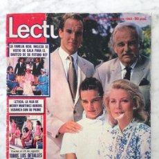 Coleccionismo de Revistas: LECTURAS - 1982 - ESTEFANIA, UN DOS TRES, DALLAS, SOLEDAD BECERRIL, CRISTINA TORRES, SARA MONTIEL. Lote 104773447
