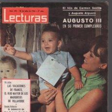 Coleccionismo de Revistas: LECTURAS Nº 693, JULIO DE 1967: CARMEN SEVILLA EN PORTADA. DAVID NIVEN. ,,MUNDI/REVISTA-62. Lote 105164171