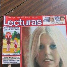 Coleccionismo de Revistas: LECTURAS 04/05/1979 CARLOS LARRAÑAGA ANA DIOSDADO ES MI MUJER - SALLY THOMSETT. Lote 105755031
