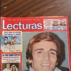 Coleccionismo de Revistas: LECTURAS 27/04/1979 CON OCHO BASTA - PEPE RUBIO. Lote 105985923