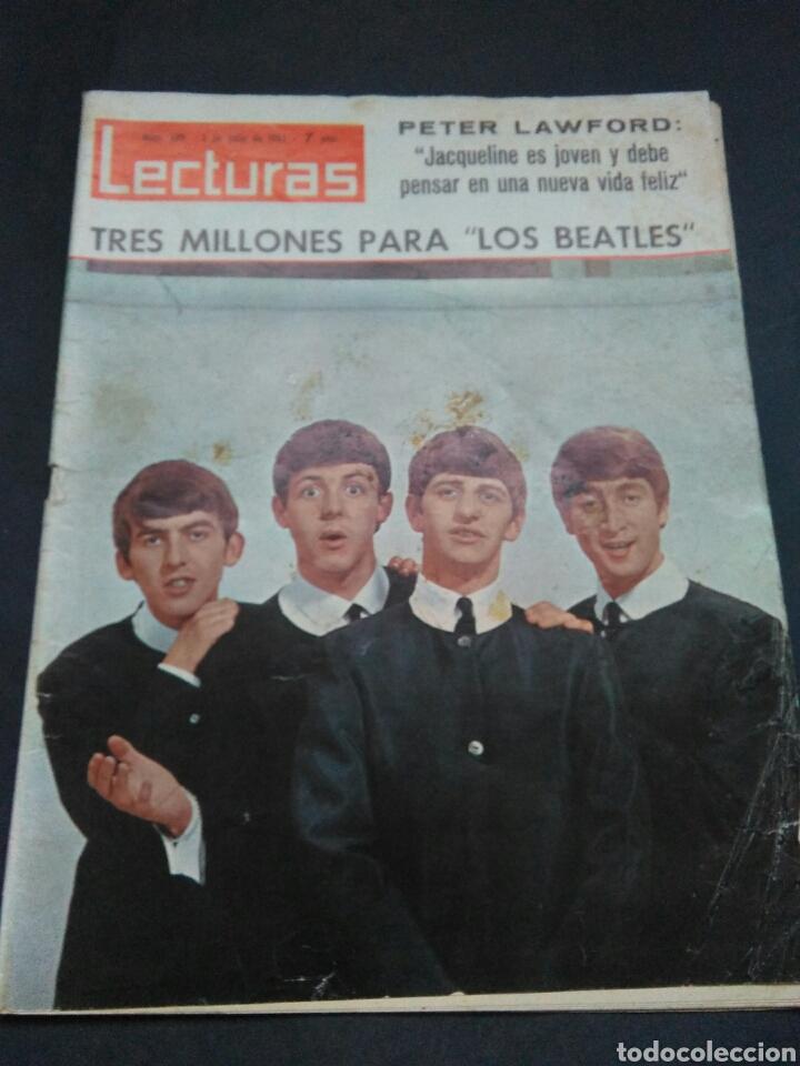 LECTURAS Nº689 1965 TRES MILLONES PARA LOS BEATLES (Coleccionismo - Revistas y Periódicos Modernos (a partir de 1.940) - Revista Lecturas)