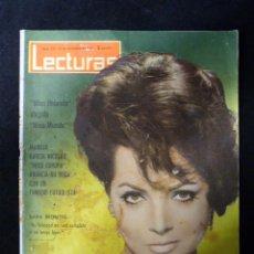 Coleccionismo de Revistas: REVISTA LECTURAS, Nº 552, AÑO 1962. SARA MONTIEL. Lote 181965218