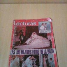 Coleccionismo de Revistas: LECTURAS, BODA LADY DI, BRUNO LOMAS, TEDDY BAUTISTA Y PEPE ROBLES, ETC. Lote 110059462