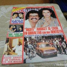 Coleccionismo de Revistas: REVISTA LECTURAS 06/05/1977 PALOMO LINARES - BIGOTE ARROCET - JUAN BAU. Lote 110113687