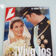 Coleccionismo de Revistas: REVISTA LECTURAS BODA REAL. Lote 110141518