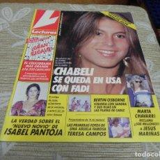 Coleccionismo de Revistas: REVISTA LECTURAS 10/08/1990 ISABEL PANTOJA - ROCIO JURADO - CHABELI - BERTIN OSBORNE. Lote 110150403