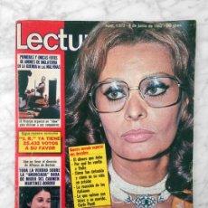 Coleccionismo de Revistas: LECTURAS - 1982 - SOFIA LOREN, OVIFORMIA SCI, DALLAS, UN DOS TRES, PALOMA SAN BASILIO, JULIAN LENNON. Lote 110204919
