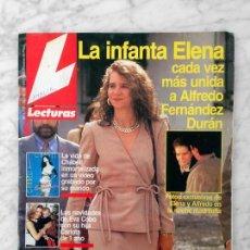 Coleccionismo de Revistas: LECTURAS - 1993 - EVA COBO, MIKI MOLINA, ESTHER ARROYO, ROCIO CARRASCO, FRAN RIVERA, CHABELI. Lote 110244907