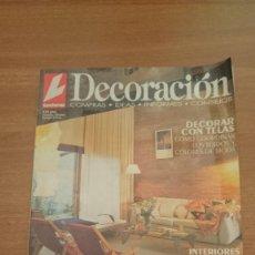 Coleccionismo de Revistas: LECTURAS DECORACION , Nº 9- . Lote 110377055