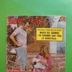 Coleccionismo de Revistas: LECTURAS 1061-1972-CARMEN MARTINEZ BORDIU-TONY RONALD-JUAN PARDO-DALI-CECILIA-RAPHAEL. Lote 110405535