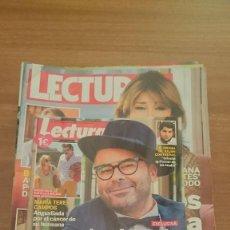 Coleccionismo de Revistas: GRAN LOTE15 DE REVISTAS LECTURAS Nº EN EL INTERIOR . Lote 110423139
