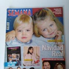 Coleccionismo de Revistas: SEMANA DIC. 2008. Lote 111774868